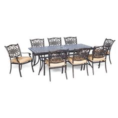 You'll love the Traditions 9 Piece Dining Set with Cushion at Wayfair - Great Deals on all Furniture products with Free Shipping on most stuff, even the big stuff.