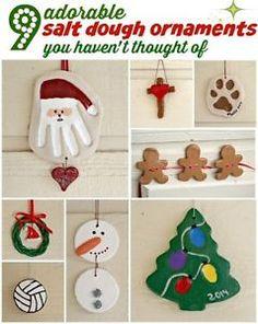 27 christmas salt dough ornaments for kids pinterest dough now why didnt i think of these 7 diy christmas craft ideas ebay solutioingenieria Gallery