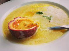 Soupe fraiche d'ananas  et fruit de la passion