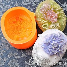Silicone Soap Molds Soap Making Elegance Flower Vase 01   eBay