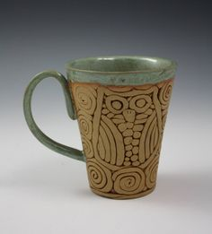 Hey, I found this really awesome Etsy listing at https://www.etsy.com/listing/207342956/coil-built-pottery-mug-with-owl-image