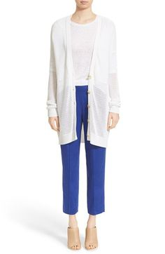 Vince Cardigan, Tee & Trousers available at #Nordstrom
