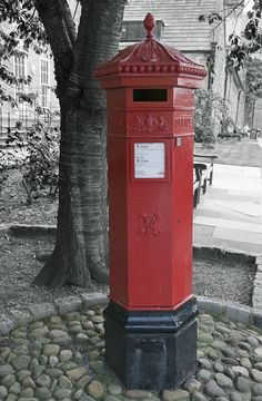 Victorian Post Box Taken By Durham Cathedral Early Afternoon 9th July 2009 A Picture
