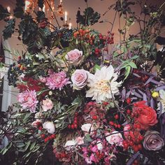 Gallery and Portfolio Floral Design, Floral Wreath, Wreaths, Entertaining, Gallery, Instagram Posts, Flowers, Plants, Painting