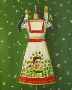 the frida dress by janet hill
