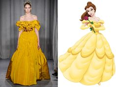 Fashion for disney princesses; Belle