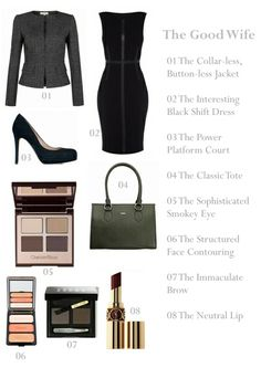 The Good Wife 100th Episode - 8 Ways to Shop the Alicia Florrick Look. I absolutely LOVE the clothing on that show!!