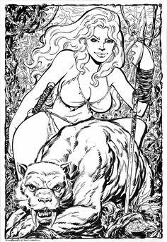 Shanna, the She-Devil by John Byrne