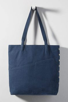 Drew Tote Bag by Hammitt in Blue Size: All, Bags at Anthropologie Hermosa Beach, Card Organizer, New Shoes, Purses And Handbags, Women's Accessories, Reusable Tote Bags, Knitting, Blue, Anthropologie