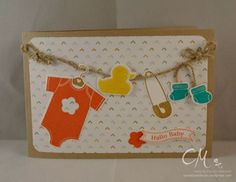 Caros Bastelbude: Babyglück, Stampin' Up!, Something for Baby