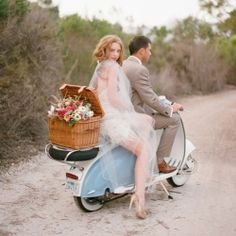 A roundup of the most unique (and crazy) wedding getaways! Photo via Elizabeth Messina.