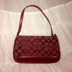 Coach Mini Purse cute and kept in great condition! Coach Bags Mini Bags