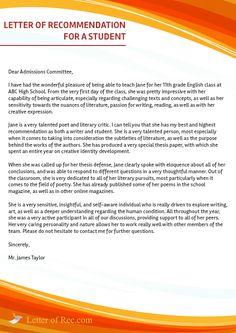 Here is a nice example of nursing letter of recommendation sample httpletterofrecwriting a letter negle