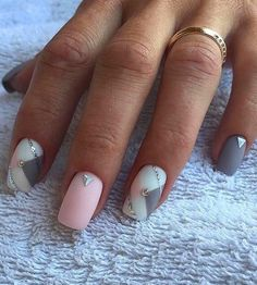 French Manicure Gel Art Tutorials Ideas For 2019 Simple Wedding Nails, Wedding Nails Design, Popular Nail Designs, Cool Nail Designs, Cute Nails, Pretty Nails, Hair And Nails, My Nails, French Nails