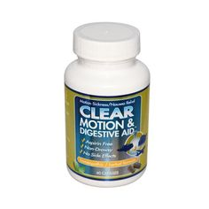 Clear Products Clear Motion and Digestive Aid (60 Capsules)