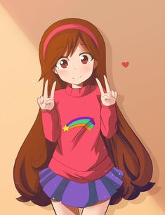 Mabel Pines, Gravity Falls by HerrdesChaos on DeviantArt