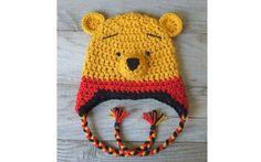 O Ursinho Pooh também é uma opção de personagem. Foto: Pinterest/Ashley Henry