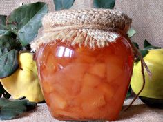 Dulceata de gutui Saveur, Gem, Diy And Crafts, Frozen, Food And Drink, Sweets, Canning, Desserts, Knits