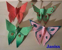 Origami Schmetterlings Das Janisx Eckchen