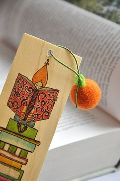 Wizard bookmark by mellsva on Etsy, $5.00