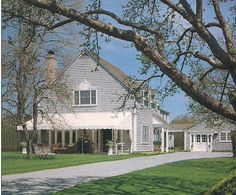 Mark Hampton's Southampton house
