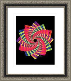 star of david 516b fractal, by  fractal mandala art
