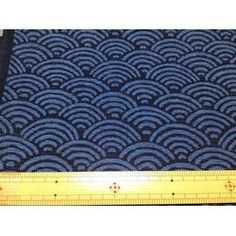 1M Japanese kimono cotton fabric yukata design