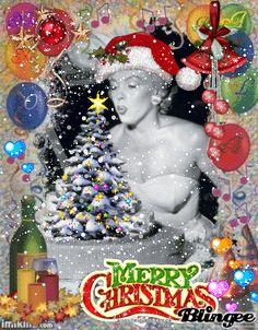 Feliz Navidad con Marilyn