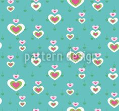 Heart Affair created by Figen Topbas Fukara offered as a vector file on patterndesigns.com