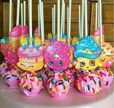 Shopkins cakepops