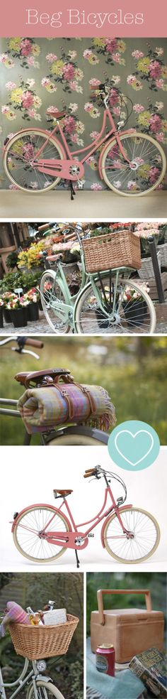 want a Beg Bicycle! After bike riding in Europe, I would love to have this bicycle! After bike riding in Europe, I would love to have this bicycle! Velo Retro, Velo Vintage, Vintage Bicycles, Pink Bike, Cycle Chic, Bike Style, Pretty In Pink, Beach Cruisers, Beach Cruiser Bikes