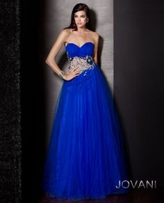 #Jovani style 157748 #Jovani style 71598 #JovaniFashions #dress #embroidered #embellished #blue #ballgown #bluedress Quinceañera