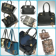 A beautiful limited edition line of purses from Henri Bendel