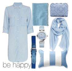 """""""be happy~~"""" by sweet-style125 ❤ liked on Polyvore featuring beauty, Nordstrom, Rails, Toast, OMEGA and LeSportsac"""