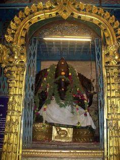 Lord Ganesha idol in Meenakshi Amman temple - http://ift.tt/1HQJd81