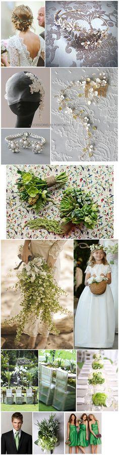 Green Wedding Theme_aphrodite_woodland_folksy_ bridal bouquet_flowergirl_reception ideas_centerpieces