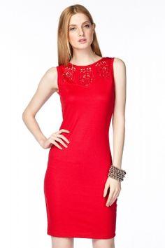 Kırmızı Elbise O&O-4B121005OLGUN