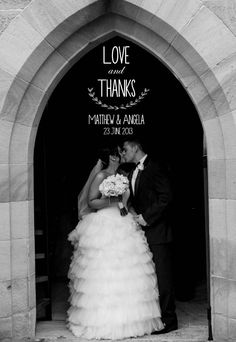 Thank you cards / wedding