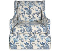 Marla Swivel Chair - This item may be custom ordered in over 500 fabrics!