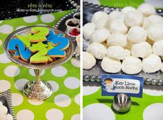 Fête à Fête: Little Astronaut Birthday Party ---use rasgulla as moon