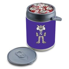 This decorative cooler is great for tailgates