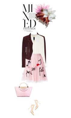 """Mixed Feelings"" by drigomes ❤ liked on Polyvore featuring Balenciaga, Derek Lam, P.A.R.O.S.H., Nicholas Kirkwood, Philipp Plein, women's clothing, women, female, woman and misses"