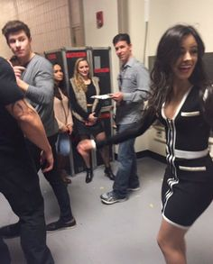 Shawn and Camila leaving msg TOGEHTER