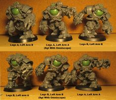 Ambots converted to proxy for Space Marine Assault Centurions. They will count as Hearthguard Assault Frames in my Squat army The Grim, Space Marine, Squats, Conversation, Army, Miniatures, Minis, Count, Frames