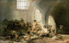 Francisco José de Goya - The lunatic asylum.