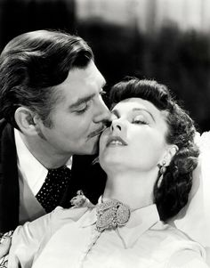 Gone With The Wind Clark Gable Vivien Leigh Stunning B&W Poster Print Rhett Butler, Scarlett O'hara, Old Movies, Great Movies, Classic Hollywood, Old Hollywood, Hollywood Glamour, Hollywood Stars, Gorgeous Movie