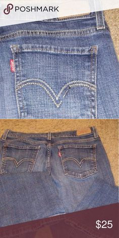 Levi's jeans May not be new but they're Levi's and still have a lot of life left in them Levi's Jeans Boot Cut