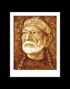 Hey, I found this really awesome Etsy listing at https://www.etsy.com/listing/195638607/willie-nelson-cannabis-artwork-made