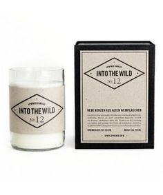 Upwined Candles Duftkerze Into the Wild No.12