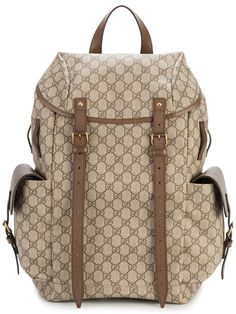 440ee33b91da GUCCI Gg Supreme Backpack.  gucci  bags  leather  canvas  backpacks  cotton